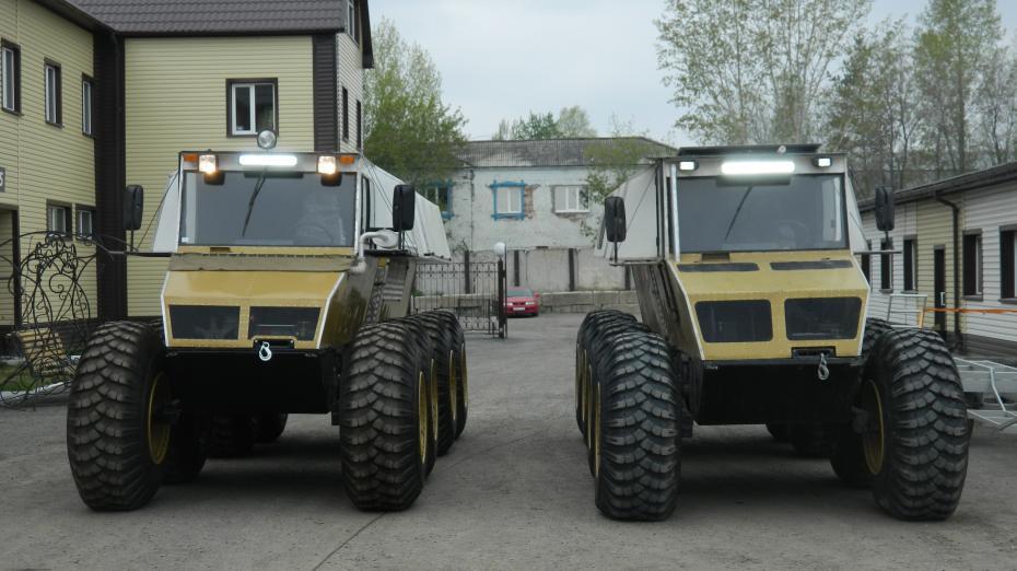 Русская мощь: вездеход «Беркут-8» на базе ВАЗ поражает своими возможностями